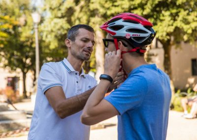 Florence to Siena one-day tour Crossing Chianti to Siena - bike fitting | bikeinflorence.com