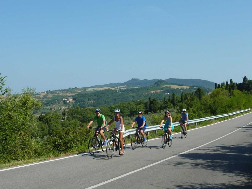 Traveling with Kids: Downhill to Florence - Bike Florence&Tuscany