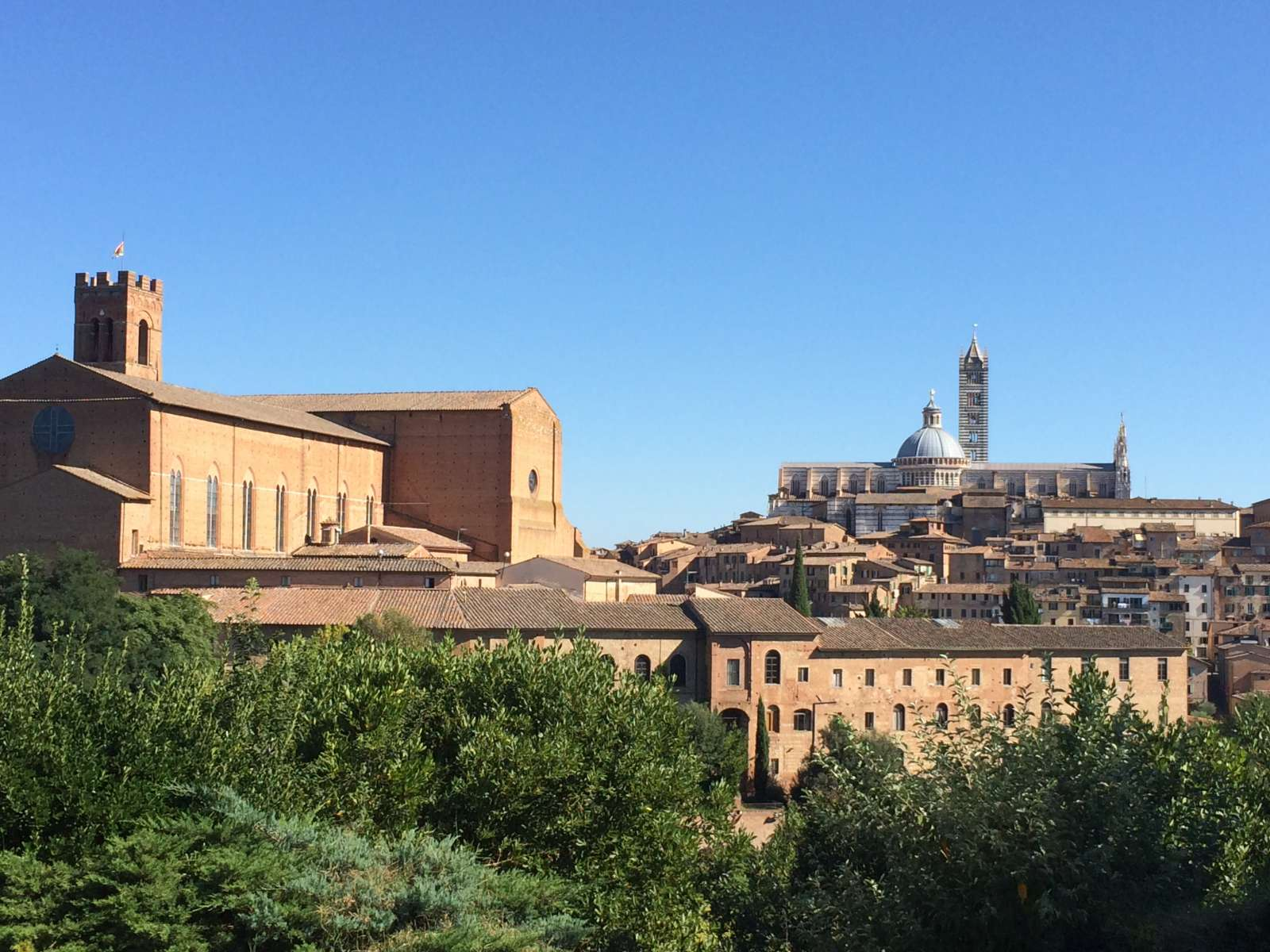 San gimignano to siena bike florence tuscany for Is florence in tuscany
