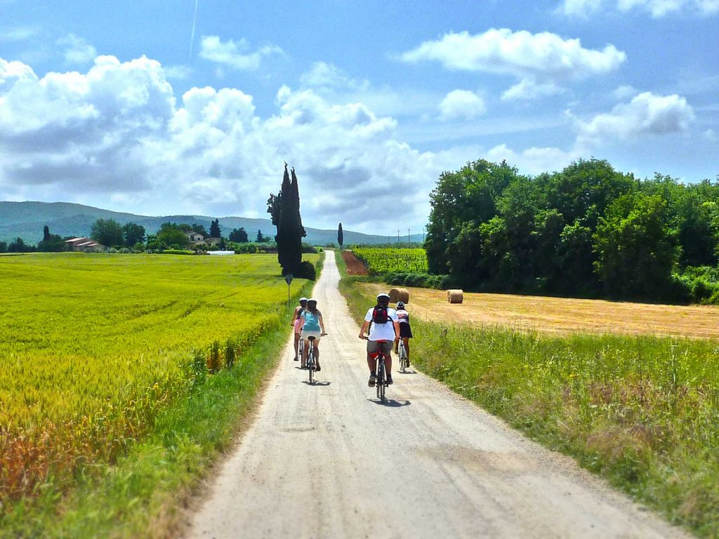 San Gimignano to Siena Cycling Tour in Tuscany