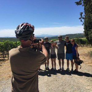 bike tour in chianti