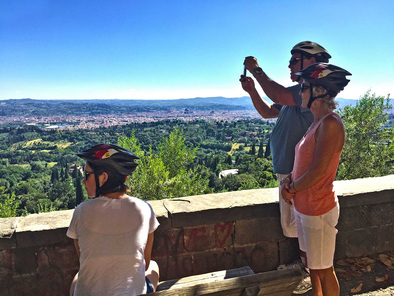 bike-in-florence-Bike-Tour-hills-of-Florence-cathedral-view