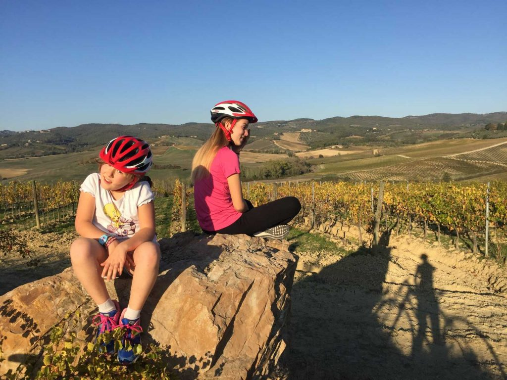 Family fun activity Traveling with Kids:- Bike Florence&Tuscany