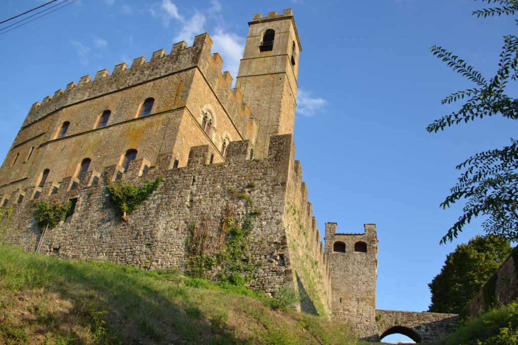 Family Friendly Activities in Tuscany: Castello di Poppi