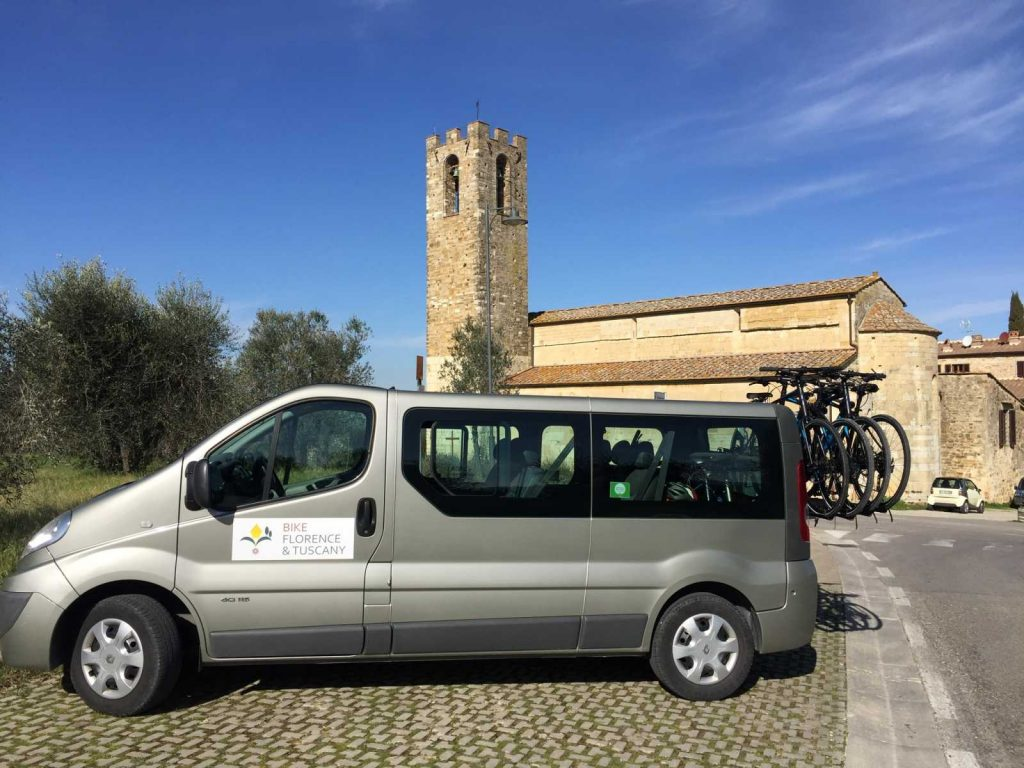 Support Vans are for your Safety when on a bike tour