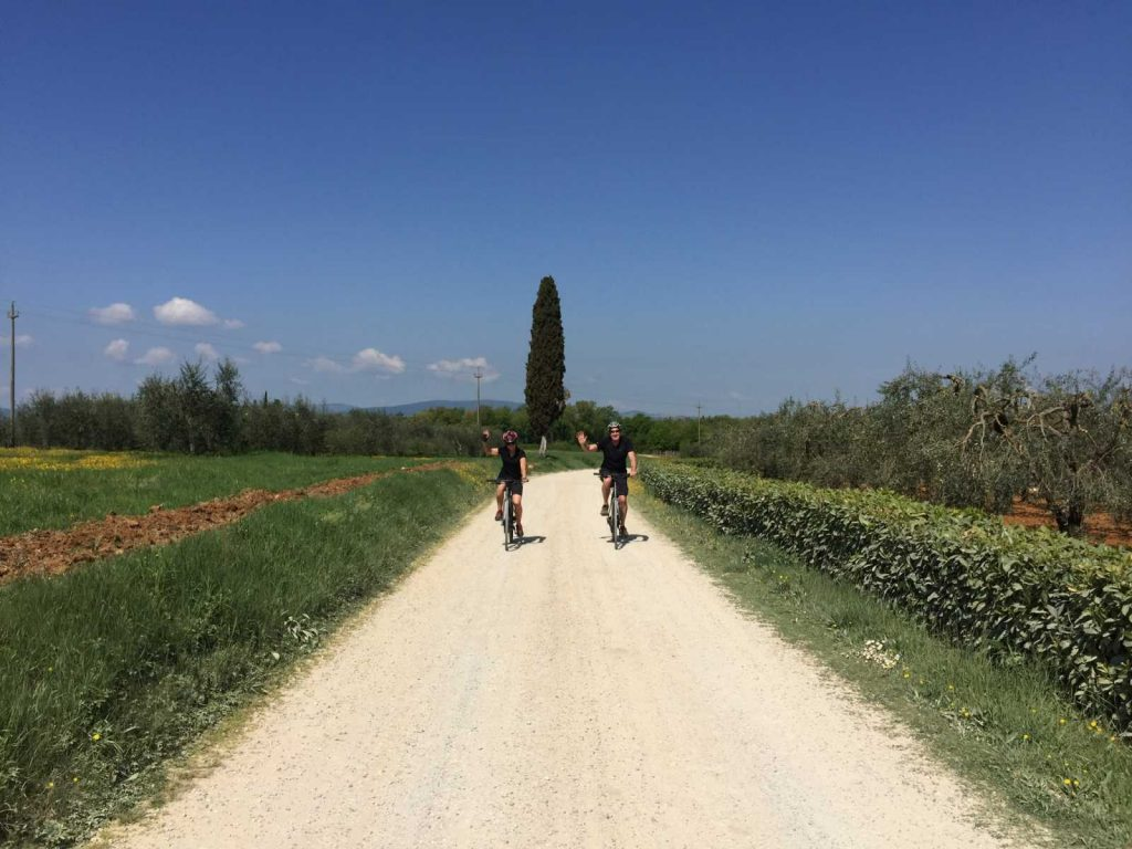 Bike in Tuscany: Low-traffic routes for safety.