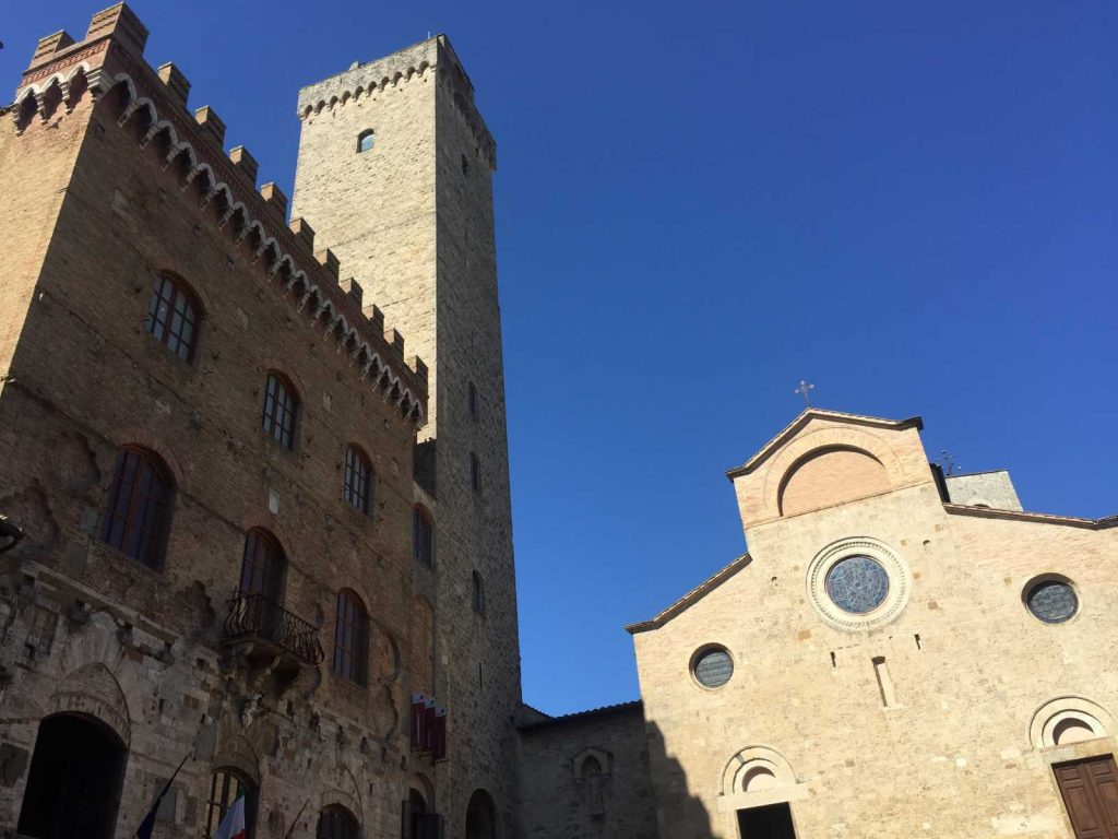 Views of San Gimignano with Bike Florence & Tuscany