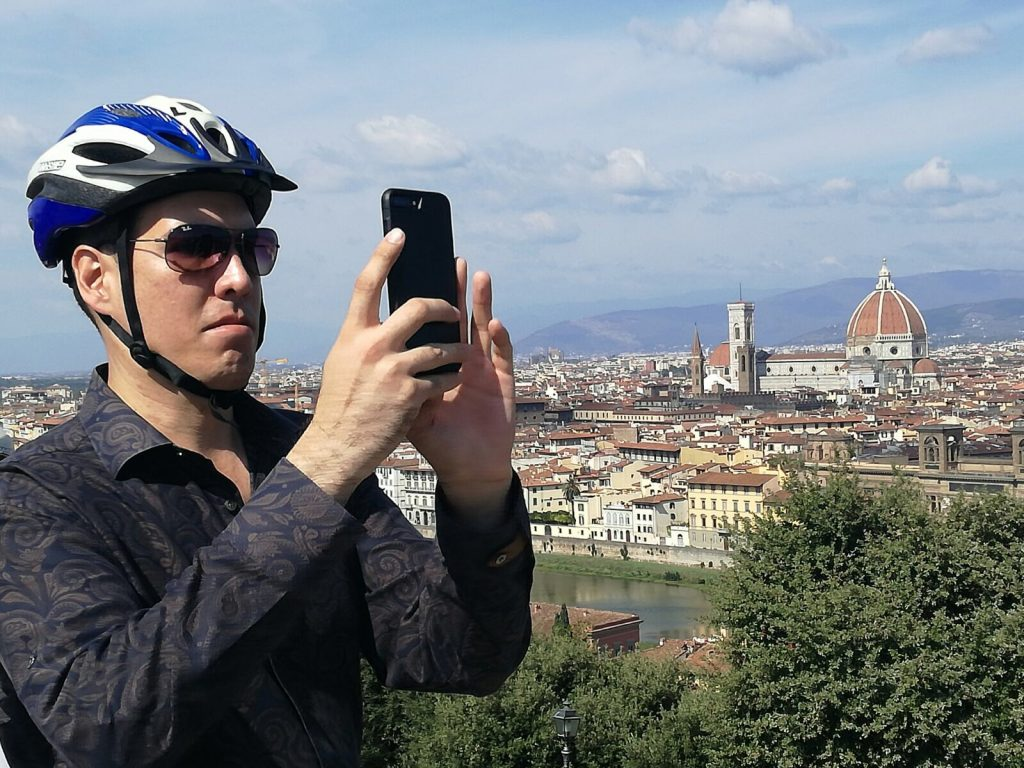 Bike Florence & Tuscany: Above the City Center