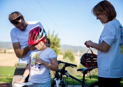 Family biking tours