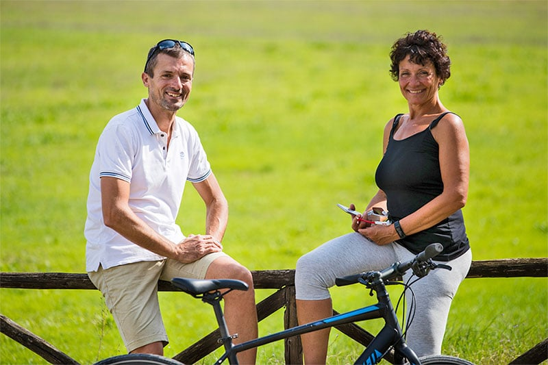 Piero Elena Fall in love with cycling in Tuscany