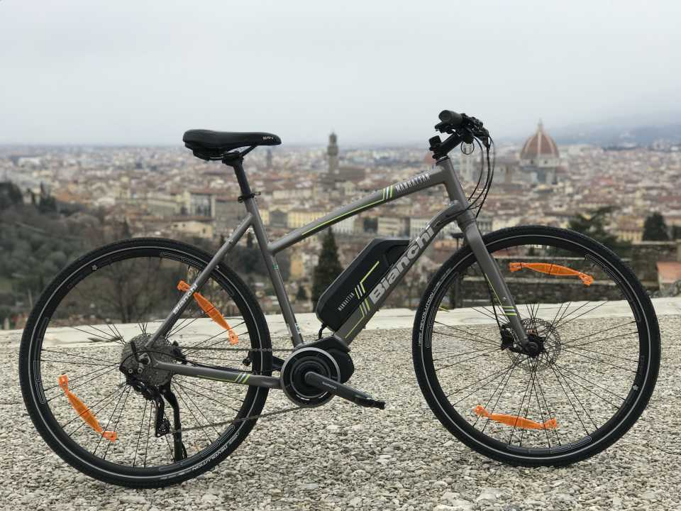 Bike Florence&Tuscany - Our bike fleet - E-bike