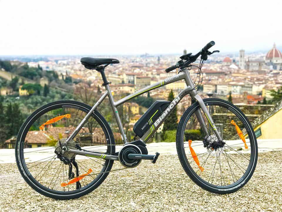 Ebikes are the solution when touring Tuscany :: Bike Florence & Tuscany