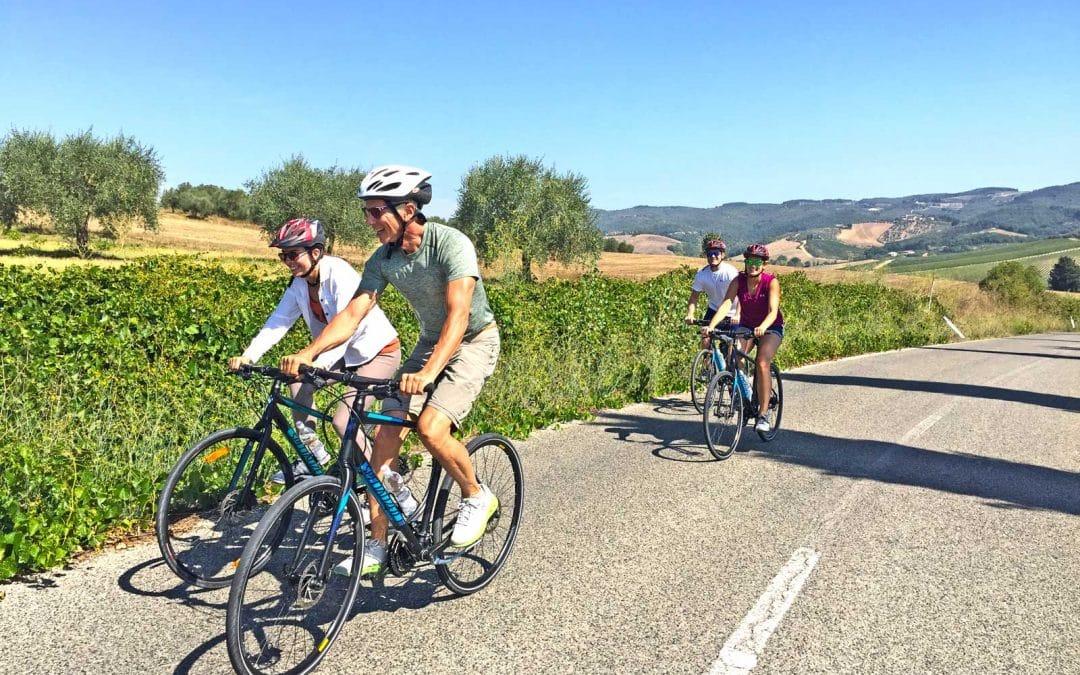 Crossing Chianti to Siena